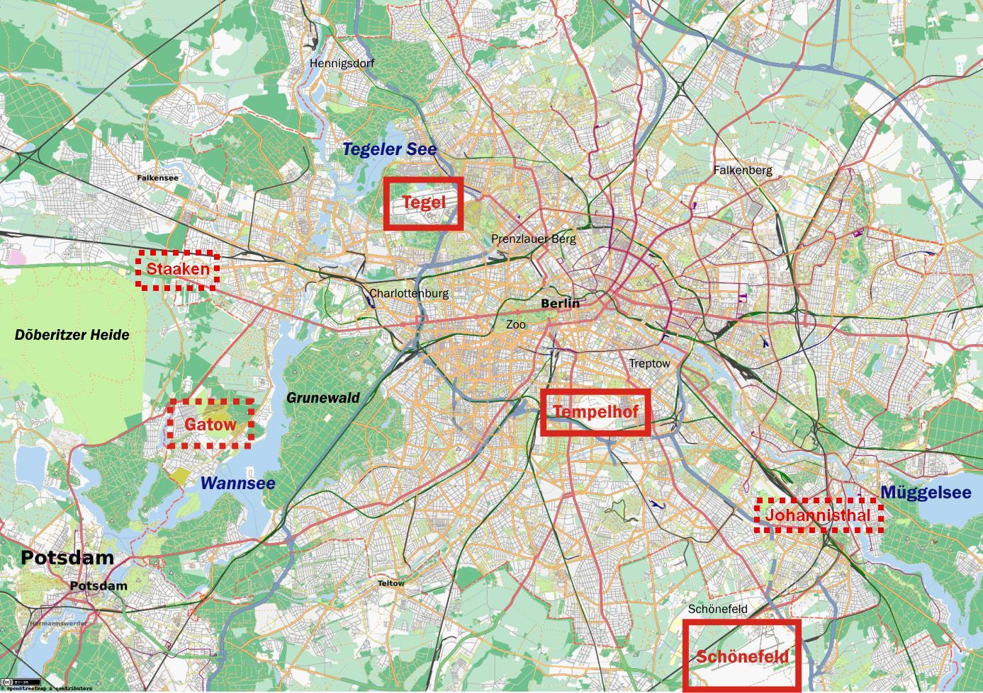 Karta Tyskland Flygplatser Karta 2020