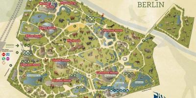 Berlin Zoo Karta.Berlin Map Kartor Berlin Tyskland